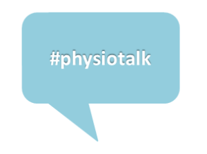 Physiotalk speech bubble