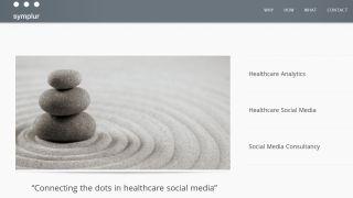 Symplur Homepage