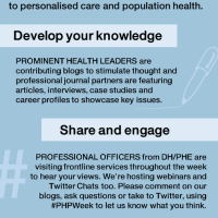 AHPs as health promoting practitioners Monday 23 June #MDTchat