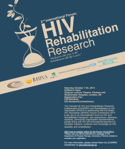 HIV rehab flyer