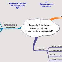 Diversity & inclusion: supporting student transition into employment #physiotalk 8 Feb 2016