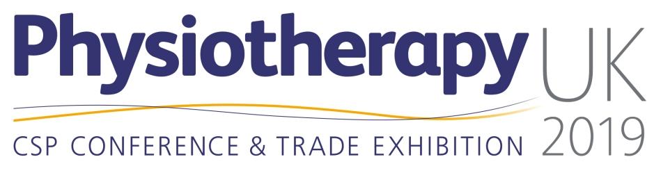 Physiotherapy UK 2019_Main Logo WHITE