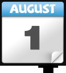 Aug 1st